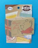 【震撼精品百貨】Winnie the Pooh 小熊維尼~行李箱貼紙~行李箱#34610