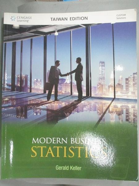 【書寶二手書T7/大學商學_ZBO】Modern business statistics_Gerald Keller[作