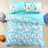 100%精梳純棉 雙人床包被套四件組 綠野仙蹤 台灣製