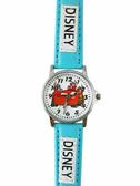 【卡漫城】CARS 兒童錶 皮革 藍 ㊣版 Mcqueen 閃電麥坤 賽車 火焰 卡通錶 男性 女性 中性錶 兒童錶