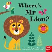 Where's Mr Lion? 獅子在哪裡?不織布翻翻書