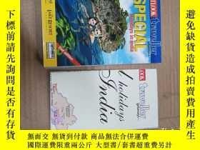 二手書博民逛書店outlook罕見traveller special holidays in indiaY234193 1 1