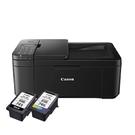 【搭PG745+CL746原廠墨水匣一黑一彩】Canon PIXMA TR4570 傳真無線多功能複合機