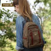 【TROOP】經典品格CLASSIC雙肩包/TRP0255BN(小)