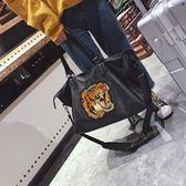 李包韓版大容量簡約旅行袋防水健身包短途旅行包男女手提 貝兒鞋櫃 全館免運