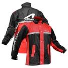 【東門城】ASTONE RA-505 兩件式運動型雨衣 附鞋套 (黑/紅)
