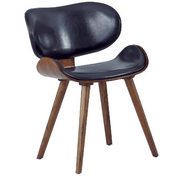 餐椅 PK-711-1 卡西納飛機餐椅(胡桃)【大眾家居舘】