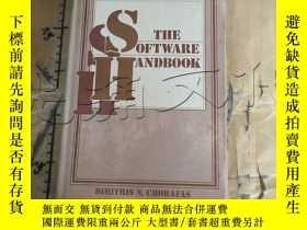 二手書博民逛書店The罕見Software HandbookY11418 Dim