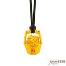 J'code真愛密碼 一桶金貔貅黃金墜子-立體硬金款 送項鍊