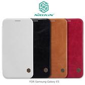 ☆愛思摩比☆  NILLKIN Samsung Galaxy E5 秦系列側翻皮套 可插卡 保護套