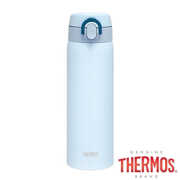 【THERMOS 膳魔師】JALC-500系列保溫瓶 500ml『淺藍』JALC-501 │水壺│不鏽鋼水壺│保溫杯