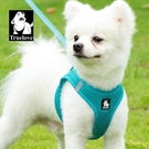 TRUELOVE狗狗牽引繩小型犬狗繩子錬子遛狗繩背心式泰迪寵物胸背帶 「夢幻小鎮」