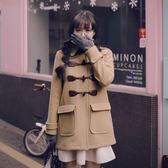 毛呢大衣 長版-羊毛優雅溫暖女風衣外套62k1【巴黎精品】
