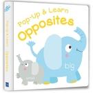 【Listen & Learn Series】Pop-Up & Learn Opposites(可愛互動立體書:對比認知)(附美籍教師朗讀音檔)