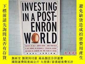 二手書博民逛書店Investing罕見in a Post-Enron World