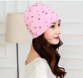 春夏季坐月子帽產婦產後用品春季時尚透氣頭巾春薄款孕婦帽子CY (pink Q 時尚女裝)