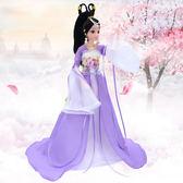 古裝芭芘比換裝娃娃套裝大禮盒民族古代仙女公主衣服飾裙子包jy【端午節特惠8折下殺】