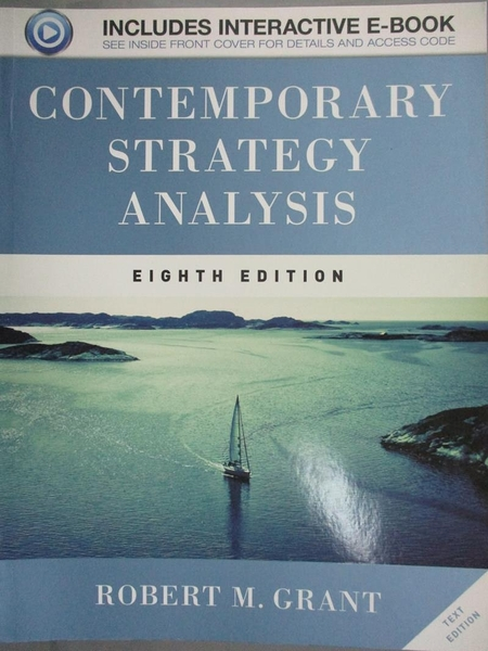 【書寶二手書T9/大學商學_QFN】Contemporary Strategy Analysis_Grant