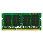 【綠蔭-免運】金士頓 DDR3 1600MHz 4GB 筆記型電腦記憶體 (1.35V,單面) (KVR16LS11/4)