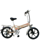 電動車48V摺疊電動自行車新國標鋰電 可拆充電成人男女電瓶助力車ATF 限時下殺價