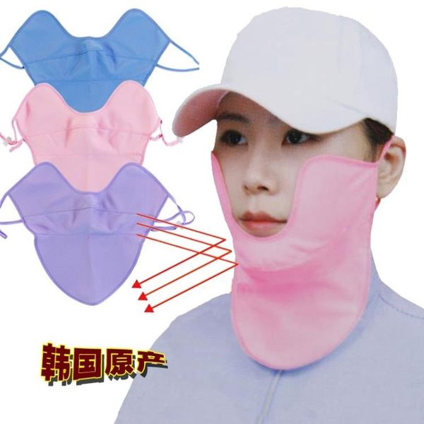 新年好禮 韓國進口高爾夫口罩女款防曬防紫外線防UV夏季運動戶外面罩