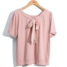 春夏5折[H2O]兩面穿領穿絲巾裝飾針織...
