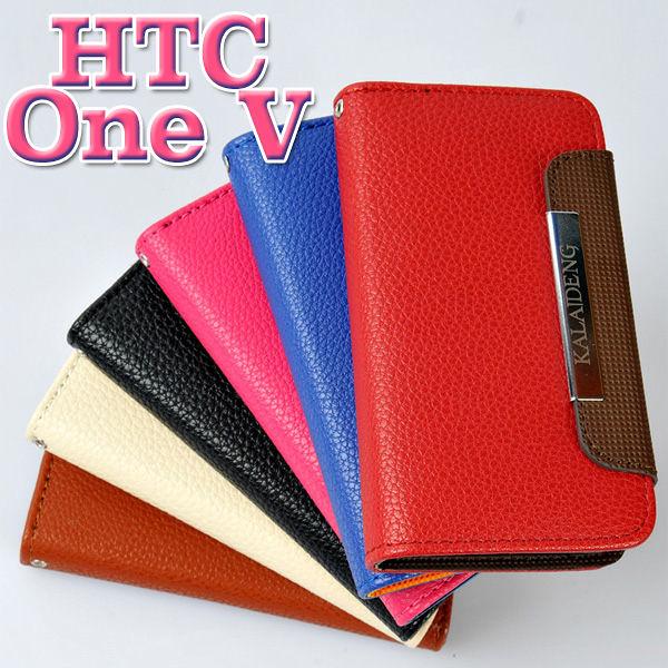 KALAIDENG 卡來登 HTC One V T320E 手機套 保護套 皮套 側翻 書本式 錢包 公司貨 出清【采昇通訊】