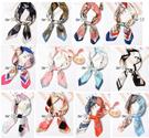 草魚妹-k1308絲巾方形餐飲企業形象空姐圍巾70cm領巾絲巾,售價180元