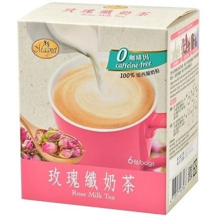 曼寧 玫瑰纖奶茶 25公克×6包/盒