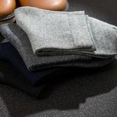 襪子男士長襪短筒中筒襪黑色防臭吸汗短襪黑純棉運動男襪四季【全館免運】