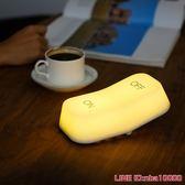 聲控燈MUID重力感應開關燈智慧節能led充電臥室床頭觸摸創意喂奶小夜燈 摩可美家