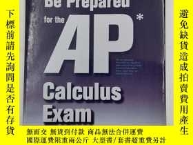 二手書博民逛書店Be罕見Prepared for the Ap Calculus