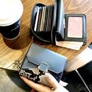 真皮錢包女士短款小巧精致高檔卡包一體新款時尚小款小眾設計 智慧e家 新品