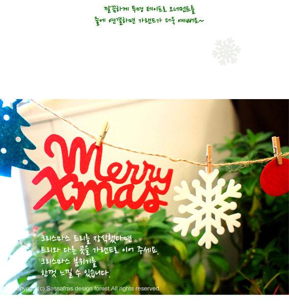 [韓風童品] 聖誕節裝飾 聖誕樹 雪人 雪花 節慶佈置 聖誕掛飾 吊飾 家飾品 派對 門簾