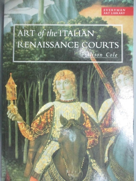 【書寶二手書T2/歷史_YCW】Art library: art of the Italian Renaissance