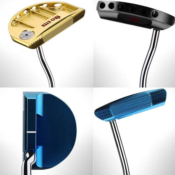 POSMA PGM 高爾夫球桿 比賽球桿 推桿 金色 TUG029-GOL