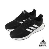 Adidas Runfalcon 黑色 網布 運動休閒鞋 男款NO.B0985【新竹皇家 F36199】