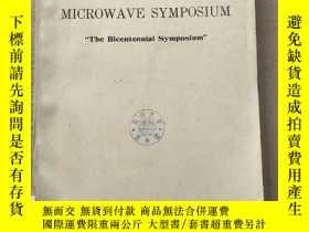 二手書博民逛書店1976罕見IEEE-MTT-S international microwave symposium(P2852)