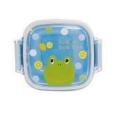 【日本製】【Rub a dub dub】迷你萬用密封盒 青蛙圖案(一組:2個) SD-9153 - Rubadubdub