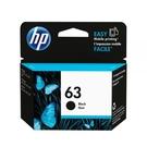 ~USAINK~HP NO.63 / F6U62AA 黑色原廠墨水匣 適用: HP 1110/2130/3630/3632/4520/4650/3830