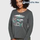 United by Blue 女休閒圓領長袖上衣 201-083 Riverbend / 城市綠洲 (有機棉、環保、長袖T、美國品牌)