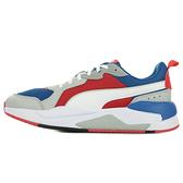 PUMA 男款紅藍白運動休閒鞋-NO.37260204
