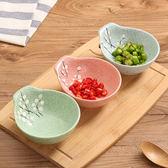 家用陶瓷碗飯碗湯碗加厚隔熱帶手柄學生碗兒童餐具火鍋醬料碗碟子【中秋節85折】