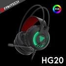 FANTECH HG20 RGB立體聲電競耳機 50mm大單體/立體音效/大耳罩/懸浮式頭帶/降噪麥克風