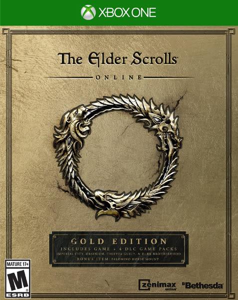 X1 The Elder Scrolls Online: Gold Edition 上古捲軸 Online:黃金版(美版代購)