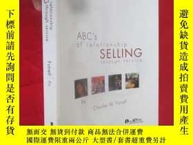 二手書博民逛書店ABC s罕見of Relationship Selling through Service(8th Editio