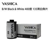 雅西卡 YASHICA B/W Black & White 400度 135黑白負片 24張 復古文青風 YASHICA MF-2 MF-1