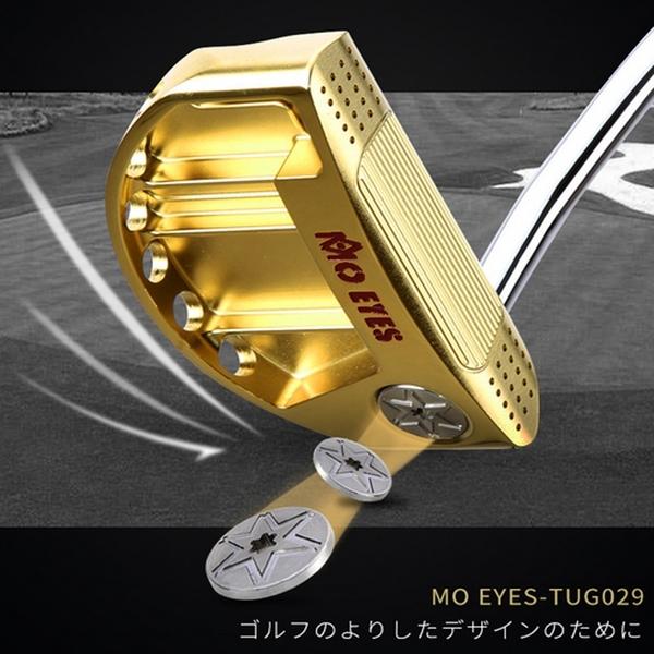 POSMA PGM 高爾夫球桿 比賽球桿 推桿 黑色 TUG029-BLK