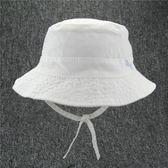 兒童帽子2018新春夏男女童漁夫帽棉質舒適盆帽小寶寶太陽帽夢想巴士