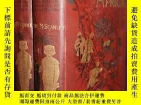 二手書博民逛書店稀缺,《In罕見Darkest Africa2卷》插圖版,約18